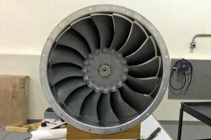industrial fan manufactured by z metal works